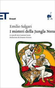 Copertina del libro I misteri della Jungla Nera di Emilio Salgari