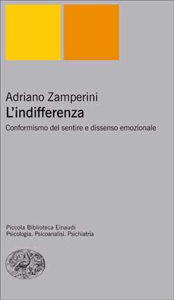 Copertina del libro L'indifferenza di Adriano Zamperini