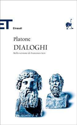 Copertina del libro Dialoghi di Platone