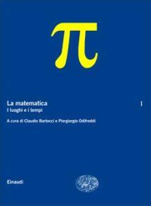 Copertina del libro La matematica. Volume I di VV.