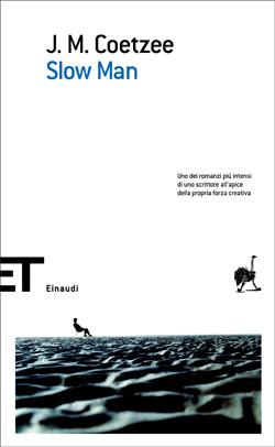 Copertina del libro Slow Man di J. M. Coetzee