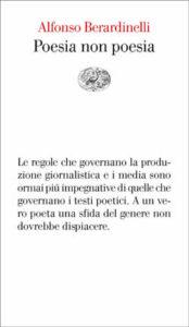 Copertina del libro Poesia non poesia di Alfonso Berardinelli