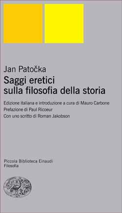 Copertina del libro Saggi eretici sulla filosofia della storia di Jan Patocka