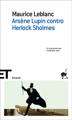 Copertina del libro Arsène Lupin contro Herlock Sholmes di Maurice Leblanc