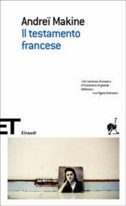 Copertina del libro Il testamento francese di Andreï Makine