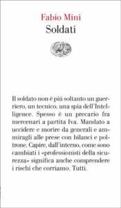 Copertina del libro Soldati di Fabio Mini
