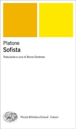 Copertina del libro Sofista di Platone