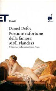 Copertina del libro Fortune e sfortune della famosa Moll Flanders di Daniel Defoe