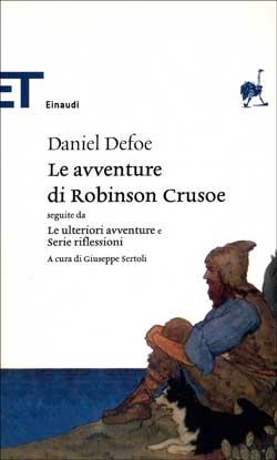 Copertina del libro Le avventure di Robinson Crusoe di Daniel Defoe