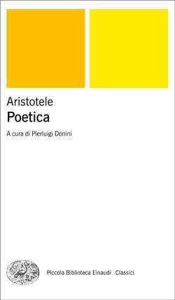 Copertina del libro Poetica di Aristotele
