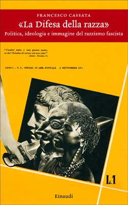 Copertina del libro «La Difesa della razza» di Francesco Cassata