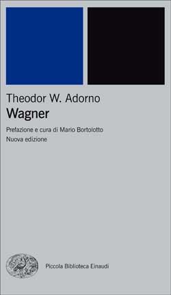 Copertina del libro Wagner di Theodor W. Adorno