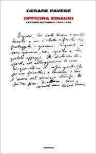 Copertina del libro Officina Einaudi di Cesare Pavese