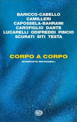 Copertina del libro Corpo a corpo