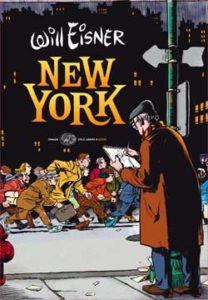 Copertina del libro New York di Will Eisner