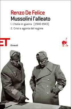Copertina del libro Mussolini l'alleato I. 2 di Renzo De Felice