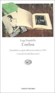 Copertina del libro L'esclusa di Luigi Pirandello