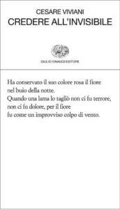 Copertina del libro Credere all'invisibile di Cesare Viviani