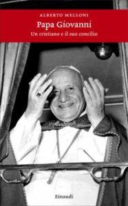 Copertina del libro Papa Giovanni di Alberto Melloni