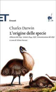 Copertina del libro L'origine delle specie di Charles Darwin