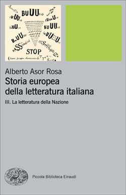 Copertina del libro Storia europea della letteratura italiana III di Alberto Asor Rosa