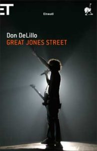 Copertina del libro Great Jones Street di Don DeLillo