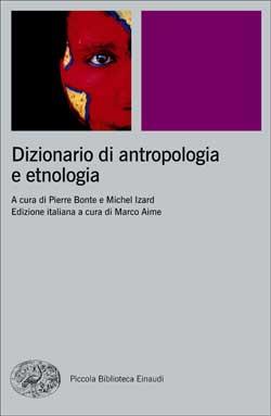 Copertina del libro Dizionario di antropologia e etnologia di VV.