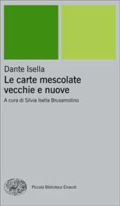 Copertina del libro Le carte mescolate vecchie e nuove di Dante Isella