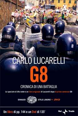 Copertina del libro G8 di Carlo Lucarelli