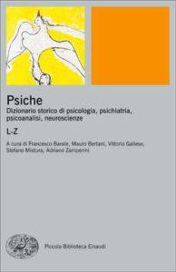 Copertina del libro Psiche. Volume secondo. L-Z di VV.