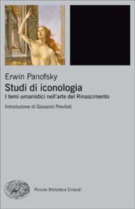 Copertina del libro Studi di iconologia di Erwin Panofsky