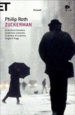 Copertina del libro Zuckerman di Philip Roth
