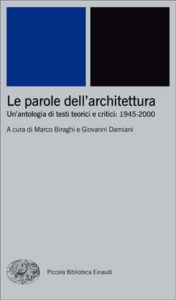 Copertina del libro Le parole dell'architettura di VV.
