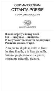 Copertina del libro Ottanta poesie di Osip Mandel'stam