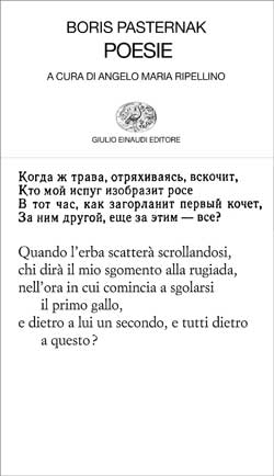 Copertina del libro Poesie di Boris Pasternak