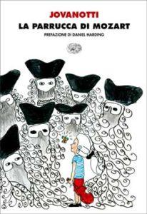 Copertina del libro La parrucca di Mozart di Lorenzo Jovanotti Cherubini
