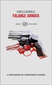 Copertina del libro Falange armata di Carlo Lucarelli