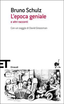Copertina del libro L'epoca geniale di Bruno Schulz