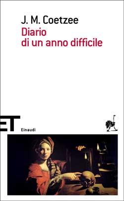 Copertina del libro Diario di un anno difficile di J. M. Coetzee