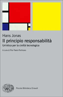 Copertina del libro Il principio responsabilità di Hans Jonas