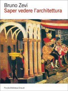 Copertina del libro Saper vedere l'architettura di Bruno Zevi