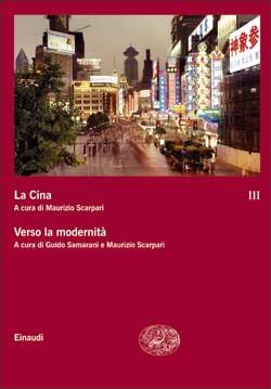 Copertina del libro La Cina III. Verso la modernità di VV.