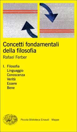 Copertina del libro Concetti fondamentali della filosofia I di Rafael Ferber