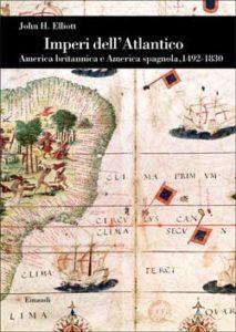 Copertina del libro Imperi dell'Atlantico di John H. Elliott