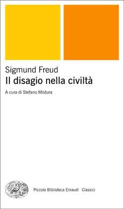 Copertina del libro Il disagio nella civiltà di Sigmund Freud