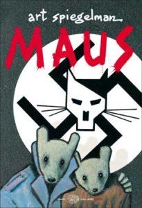 Copertina del libro Maus di Art Spiegelman