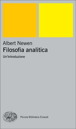 Copertina del libro Filosofia analitica di Albert Newen