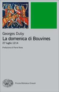 Copertina del libro La domenica di Bouvines di Georges Duby
