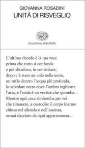 Copertina del libro Unità di risveglio di Giovanna Rosadini