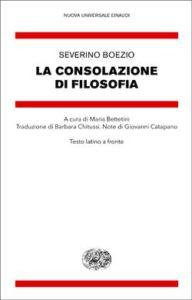 Copertina del libro La consolazione di Filosofia di Severino Boezio